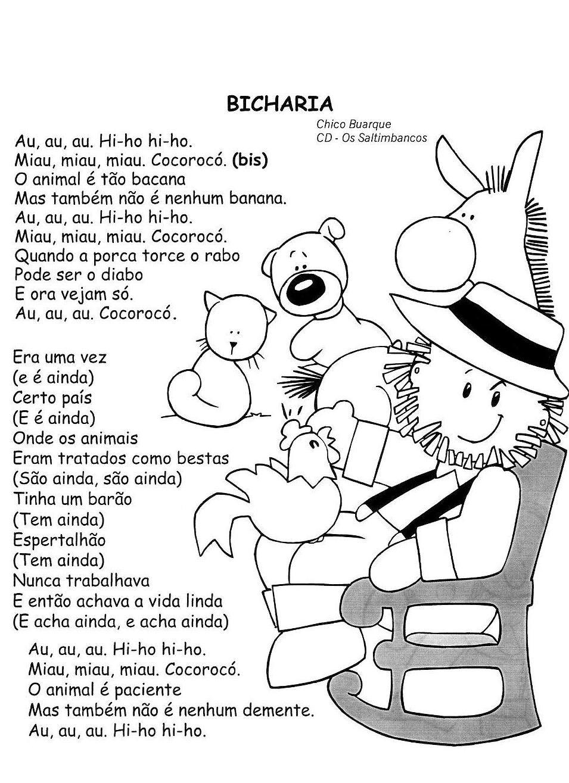 Poesia Ilustradas Dia Dos Animais Pra Gente Miuda Educacao