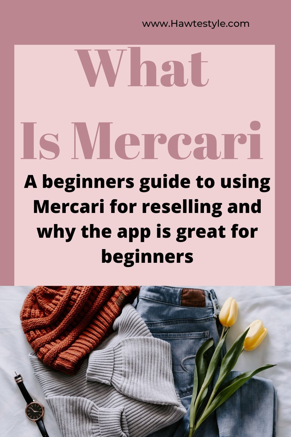 How To Sell On Mercari As A Beginner Mercari Things To Sell Online Clothing