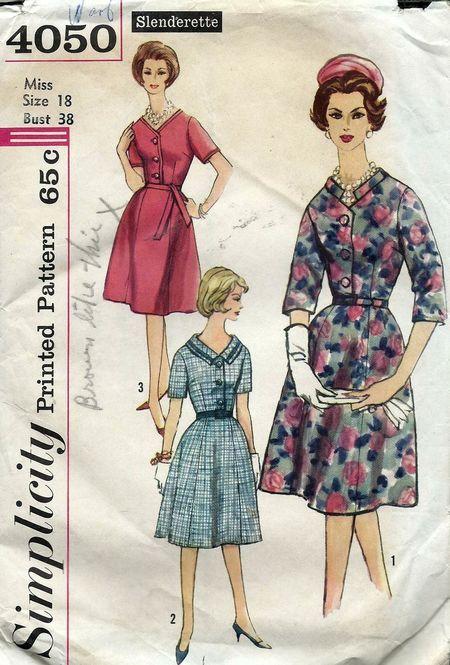 Simplicity 4050; ca. 1961