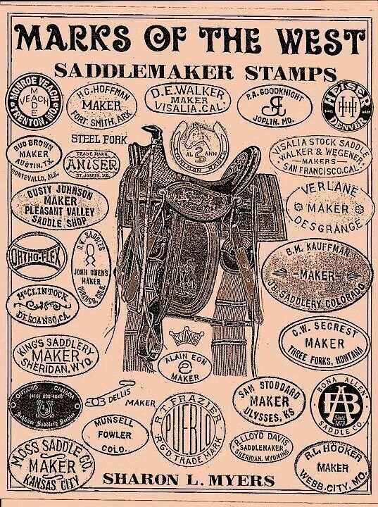 Saddlers stamps
