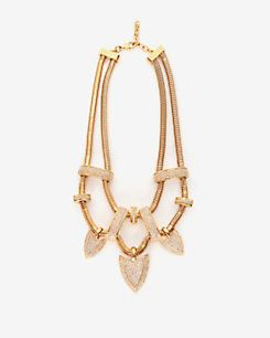 Kara Ross Crystal Artemis Necklace