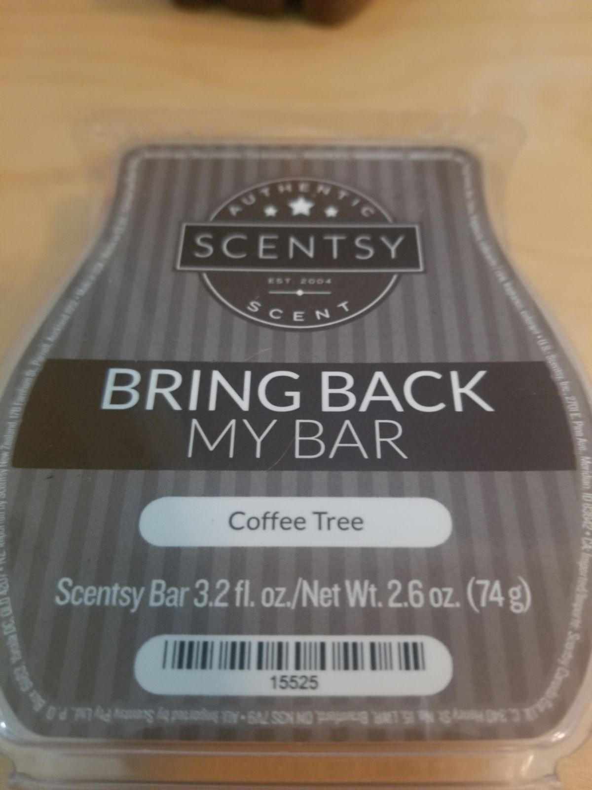 New Scentsy Coffee Tree Bar Thanks For Looking All Items Ship Out