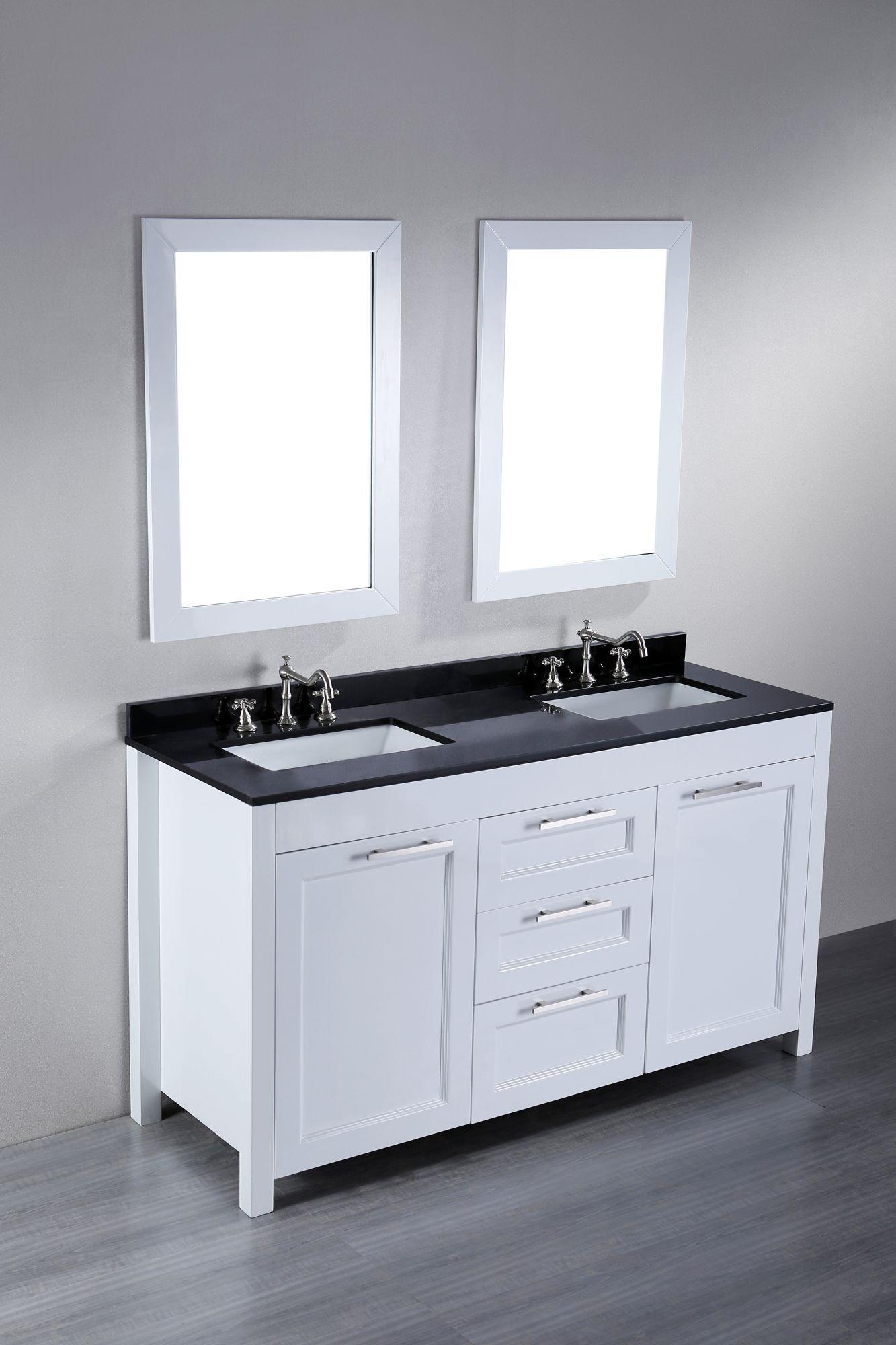 48 Zoll Bad Eitelkeit Mit Granit Top Waschbeckenunterschrank
