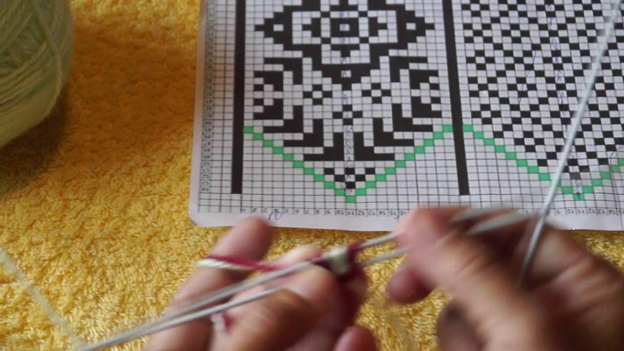 вязание джурабов урок 1 вязание Knitting Patterns Free