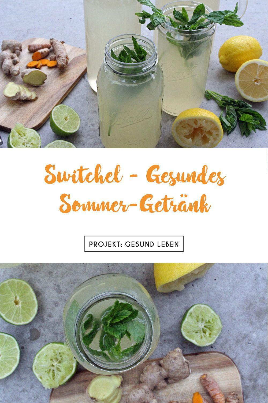 Switchel - das gesunde Sommertrendgetränk 2017 - Projekt: Gesund leben | Sauberes Essen, Fitness & E...