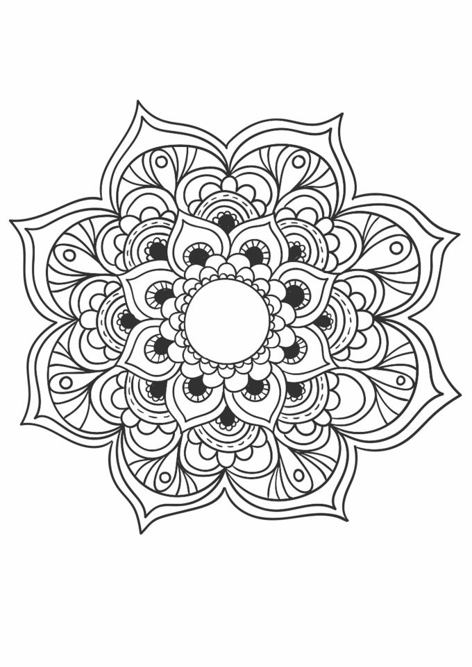 Ahmedeltouny I Will Send You 10 Beautiful Mandala Coloring Book