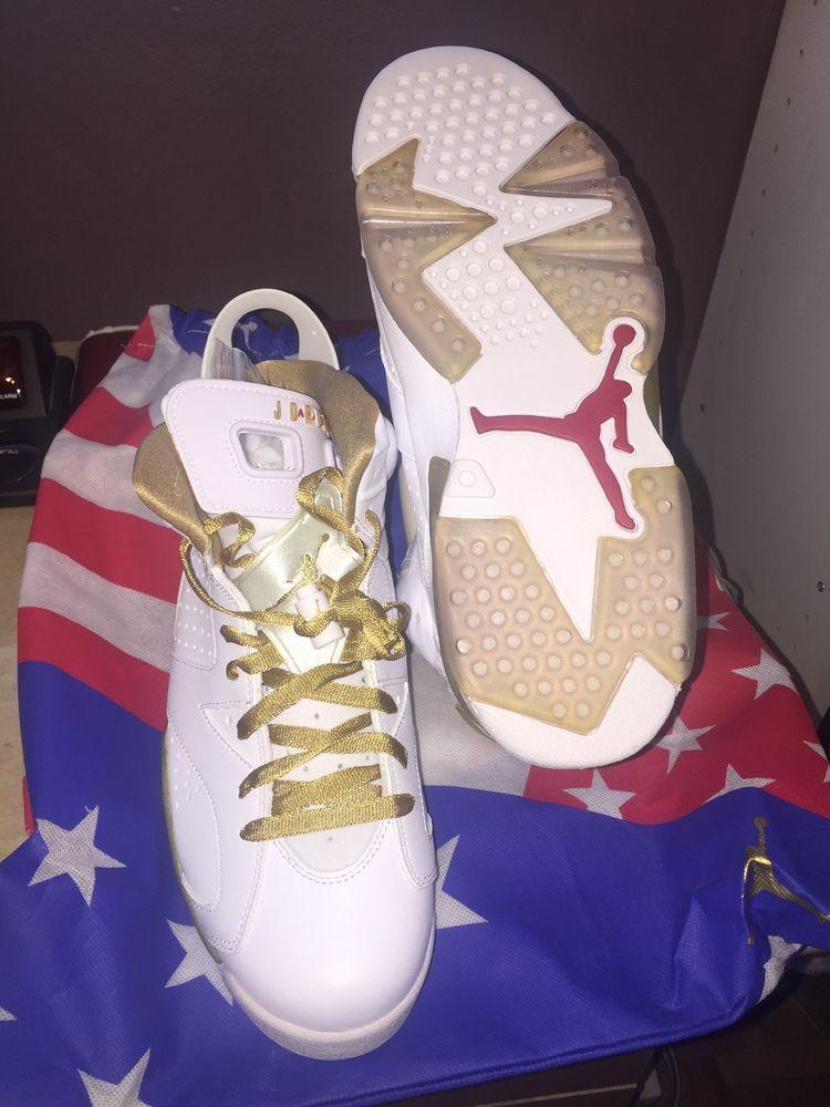 premium selection 6368f de4de eBay  Sponsored Nike Air Jordan 6 VI Retro GMP Golden Moments Package 2012  Mens Size