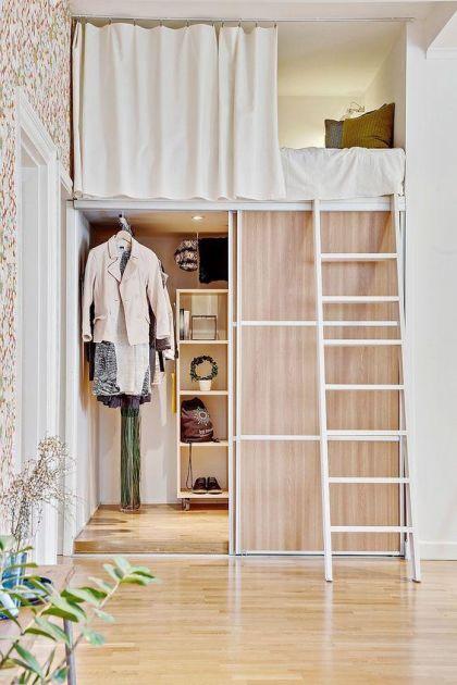 Bygg på höjden och få mer plats: 15 smarta idéer för snygga loft | Land #compactliving