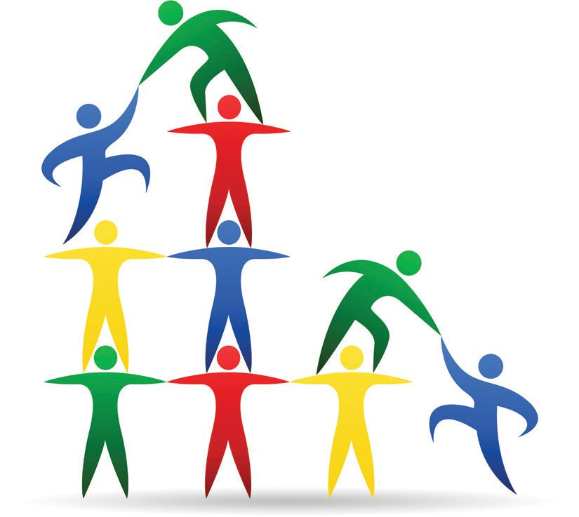 success mantra team building in marketing the team with which rh pinterest com clipart team building team building clip art