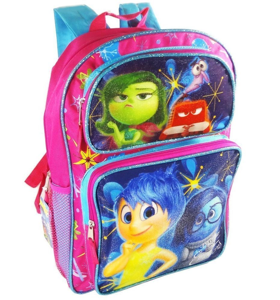 "El Chavo 16/"" backpack with water bottle holder pockets"