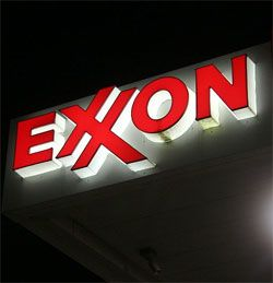 1982 Exxon celebrates 100 years since the formation of the Standard Oil Trust in 1882.