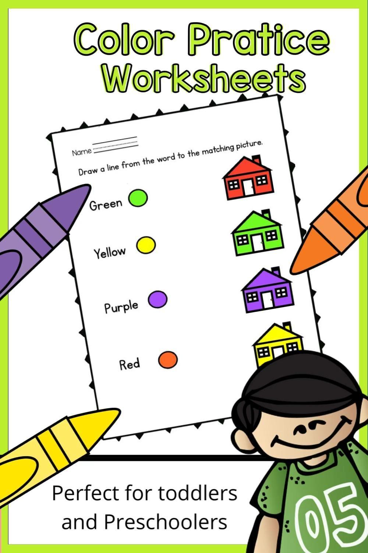 Color Recognition Practice Activities Video Video Preschool Worksheets Preschool Toddler Activities [ 1500 x 1000 Pixel ]