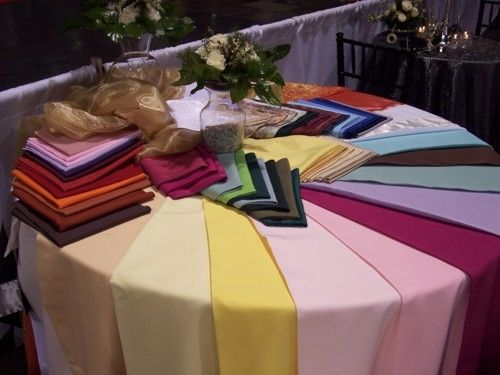 omega design events table linen rentals are perfect for a variety of