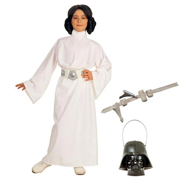 Complete Deluxe Princess Leia Girls Costume - Kids Star Wars Costumes  sc 1 st  Pinterest & Complete Deluxe Princess Leia Girls Costume - Kids Star Wars ...