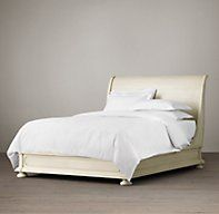 St. James Sleigh Bed Without Footboard