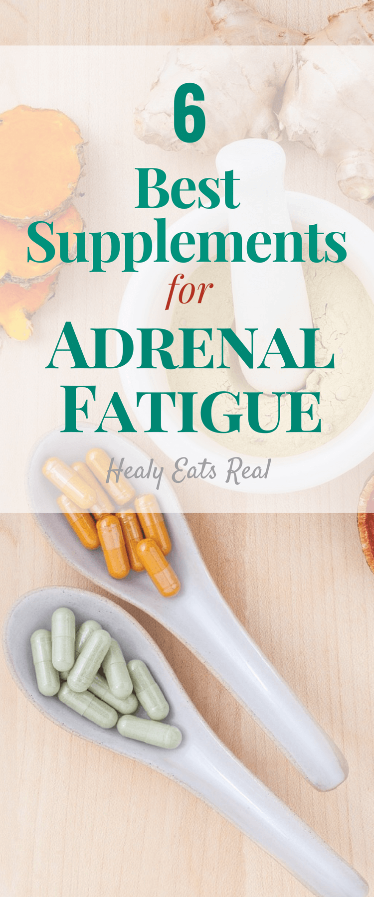 6 Best Supplements for Adrenal Fatigue #health