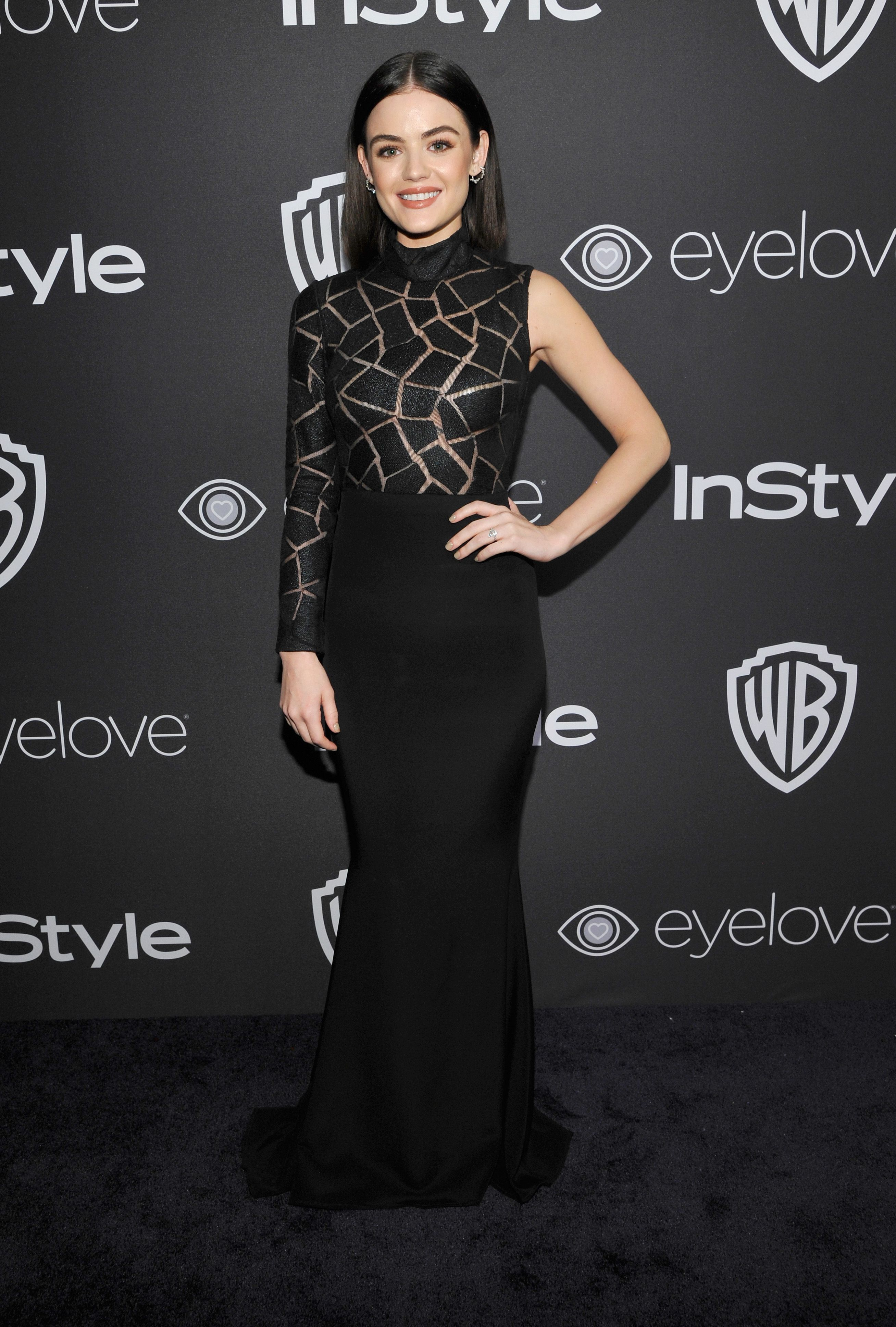 Lucy Hale in Christian Siriano | Celebrities and their ...