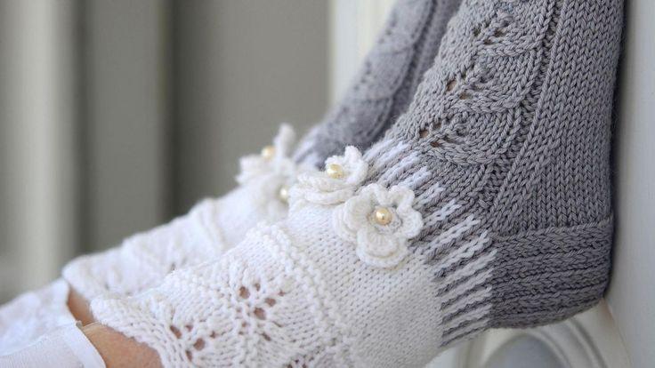 """Ein Tutorial aus dem Buch """"Enchanting Wool Socks"""" von Merja Ojanperä   - Stricken - #aus #Buch #dem #ein #Merja #Ojanperä #quotEnchanting #Socksquot #Stricken #Tutorial #von #wool"""