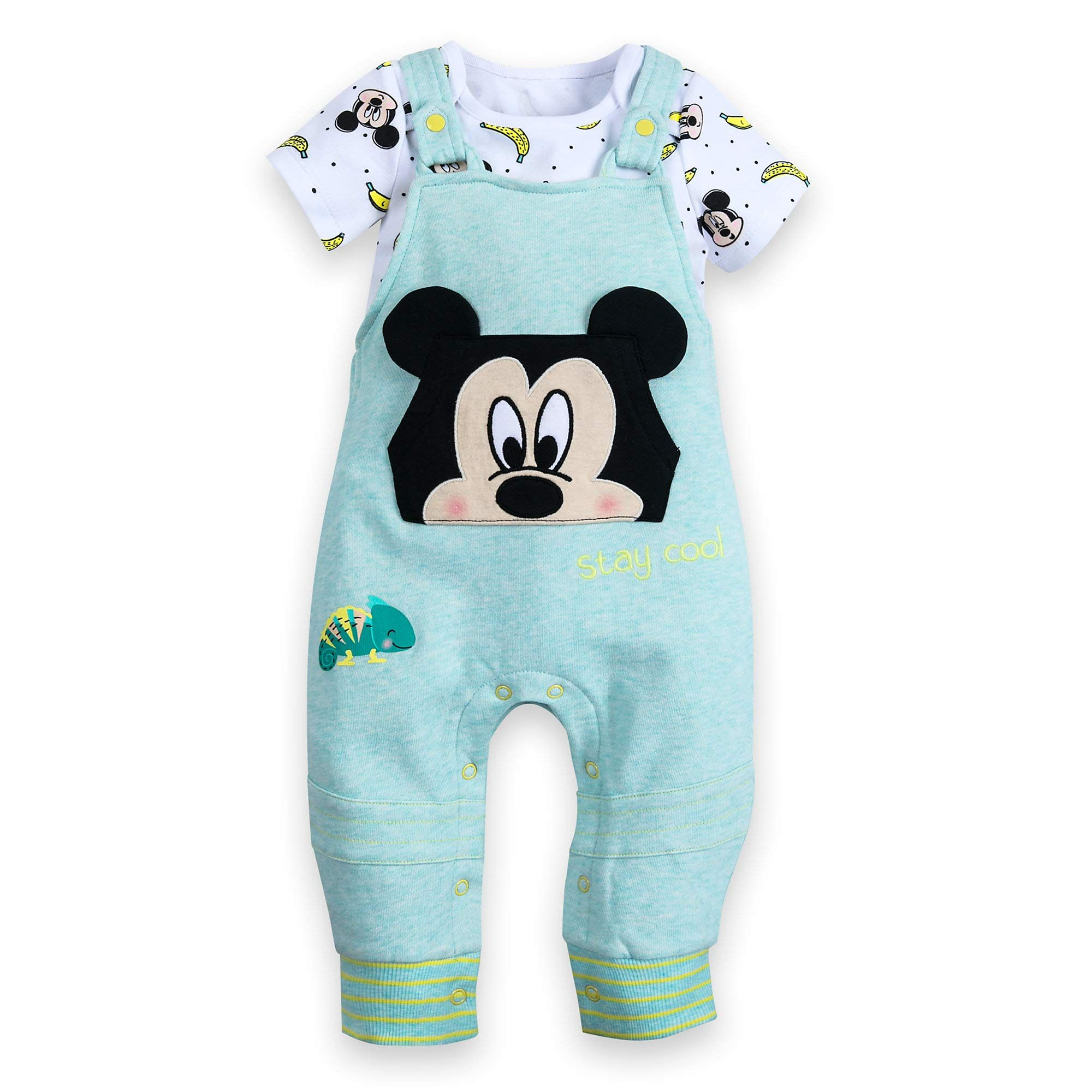 Disney 101 dalmatians Dungree And Bodysuit Outfit For Toddler Girls