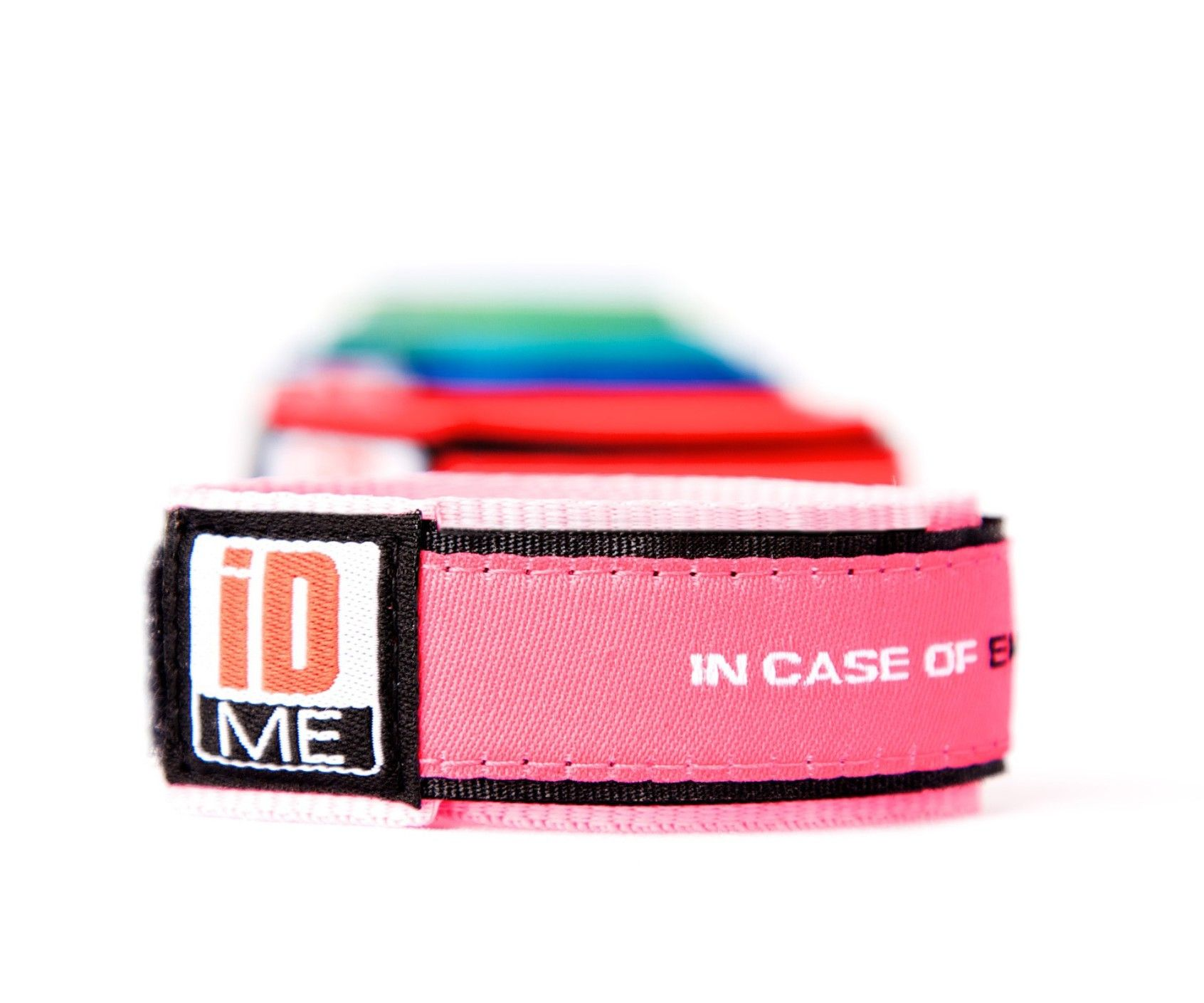 Pink Id Band Child Bands Sports Medical Allergy Ice
