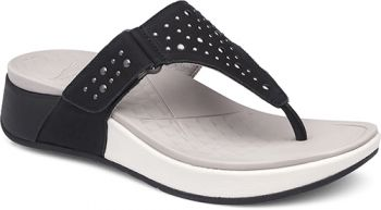 e6bdc1ab0567 Dansko Catalina Sandal  Black Nubuck Leather