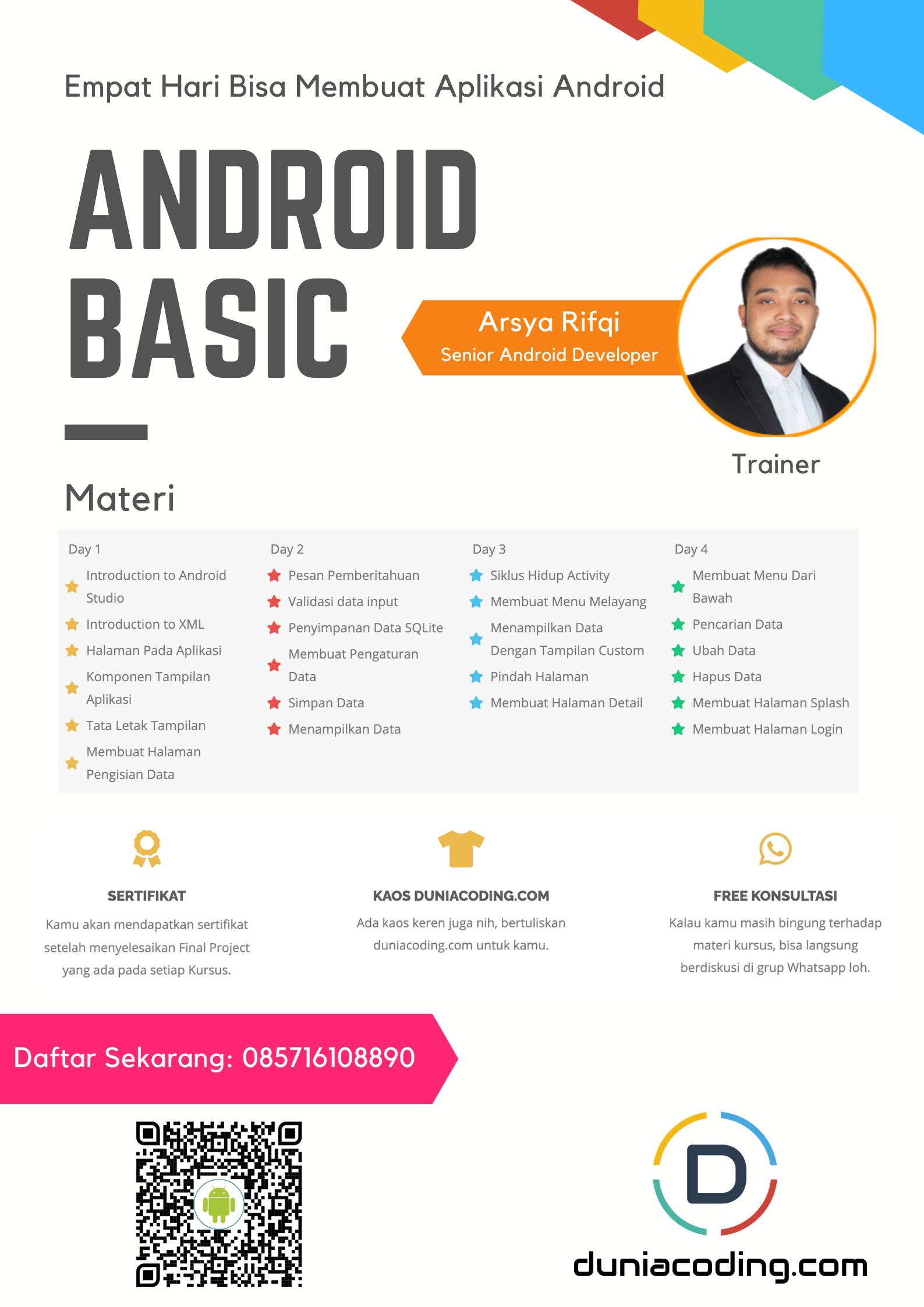 Kursus Membuat Aplikasi Android Aplikasi Siklus Hidup Android