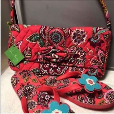 Bradley COLOR ME CORAL bag and matching flip flops ebay linkVera Bradley COLOR ME CORAL bag and matching flip flops ebay link Little Pony comic Diaper Bag wchange pad by...