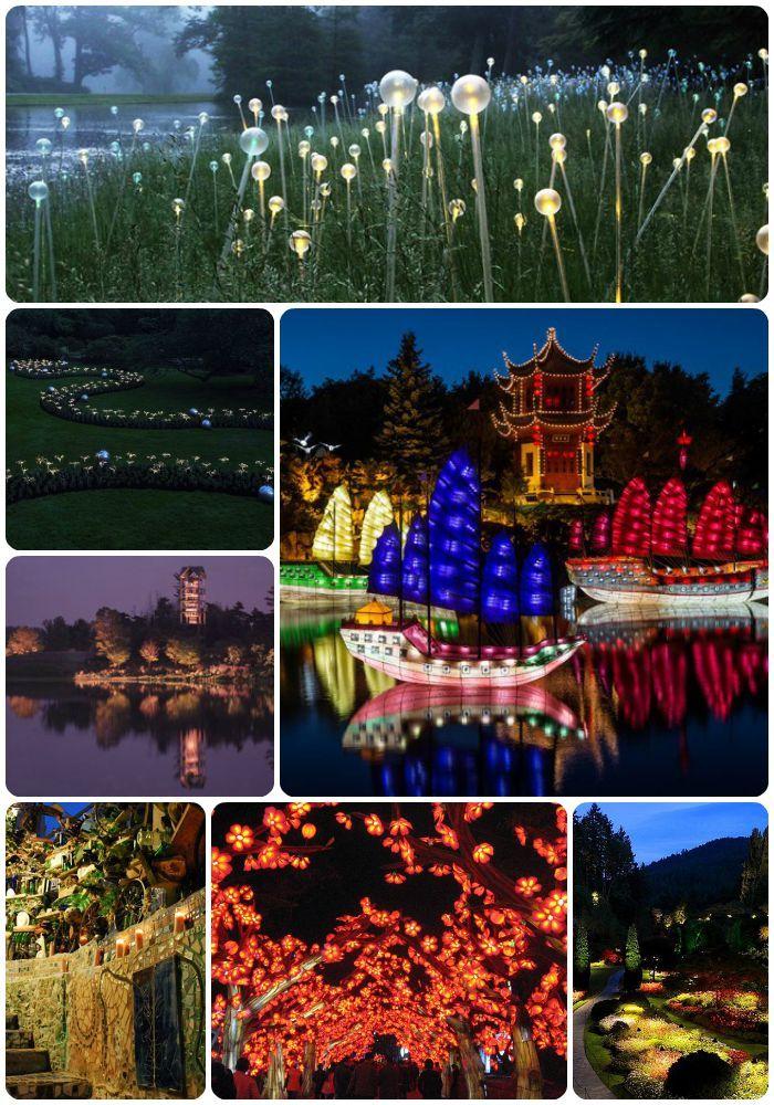 6 Gardens to Visit at Night | Garden design, Most ...