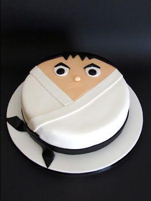 Karate kid sabores da gula Karate party Pinterest Karate cake