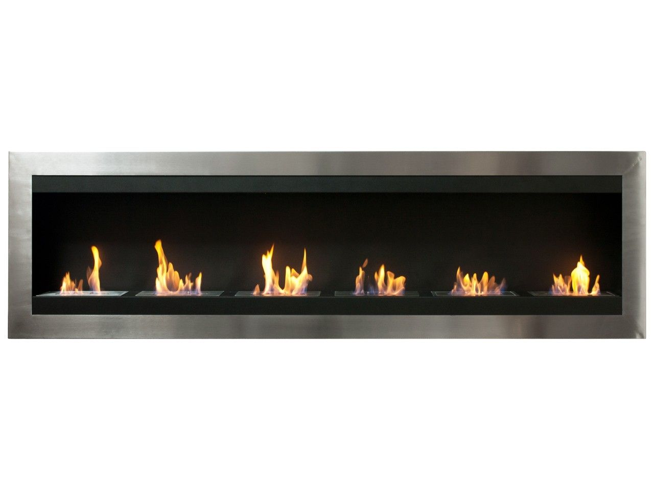 Ethanol fireplace and Walls