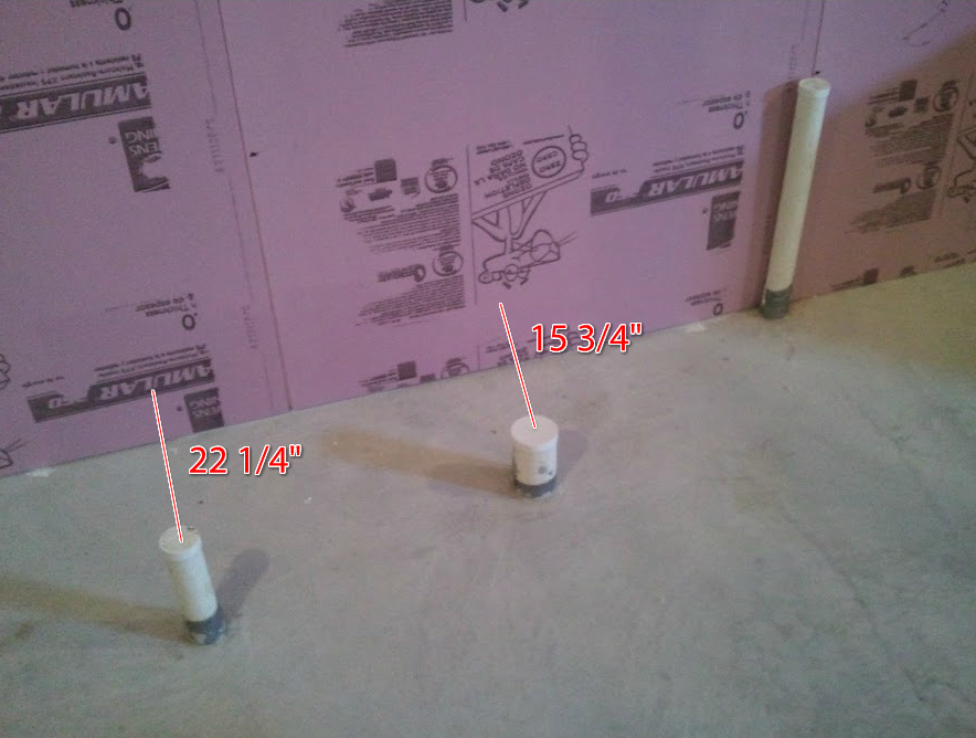 Basement Plumbing: Identifying Bathroom Rough In Pipes