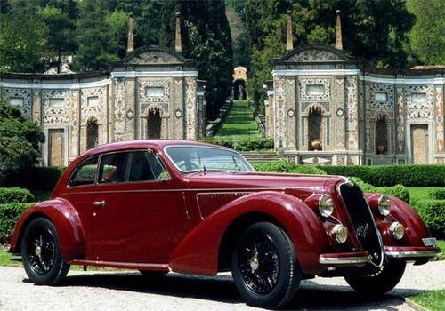 Classic Cars S European Style Sport Car Alfa Romeo - Classic car 1930
