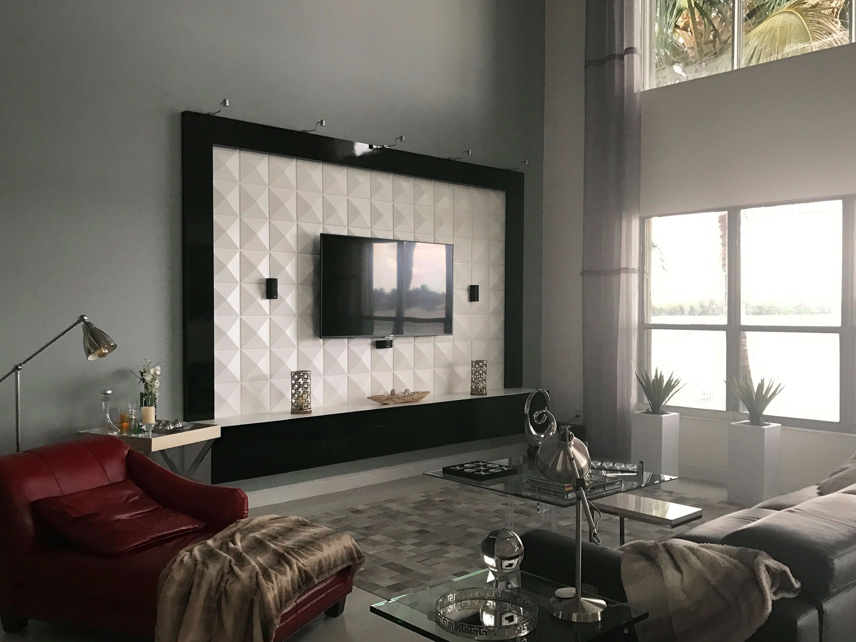 Richmond 3D Wall Panels for Living Room | 3d wall panels, 3d wall and 3d