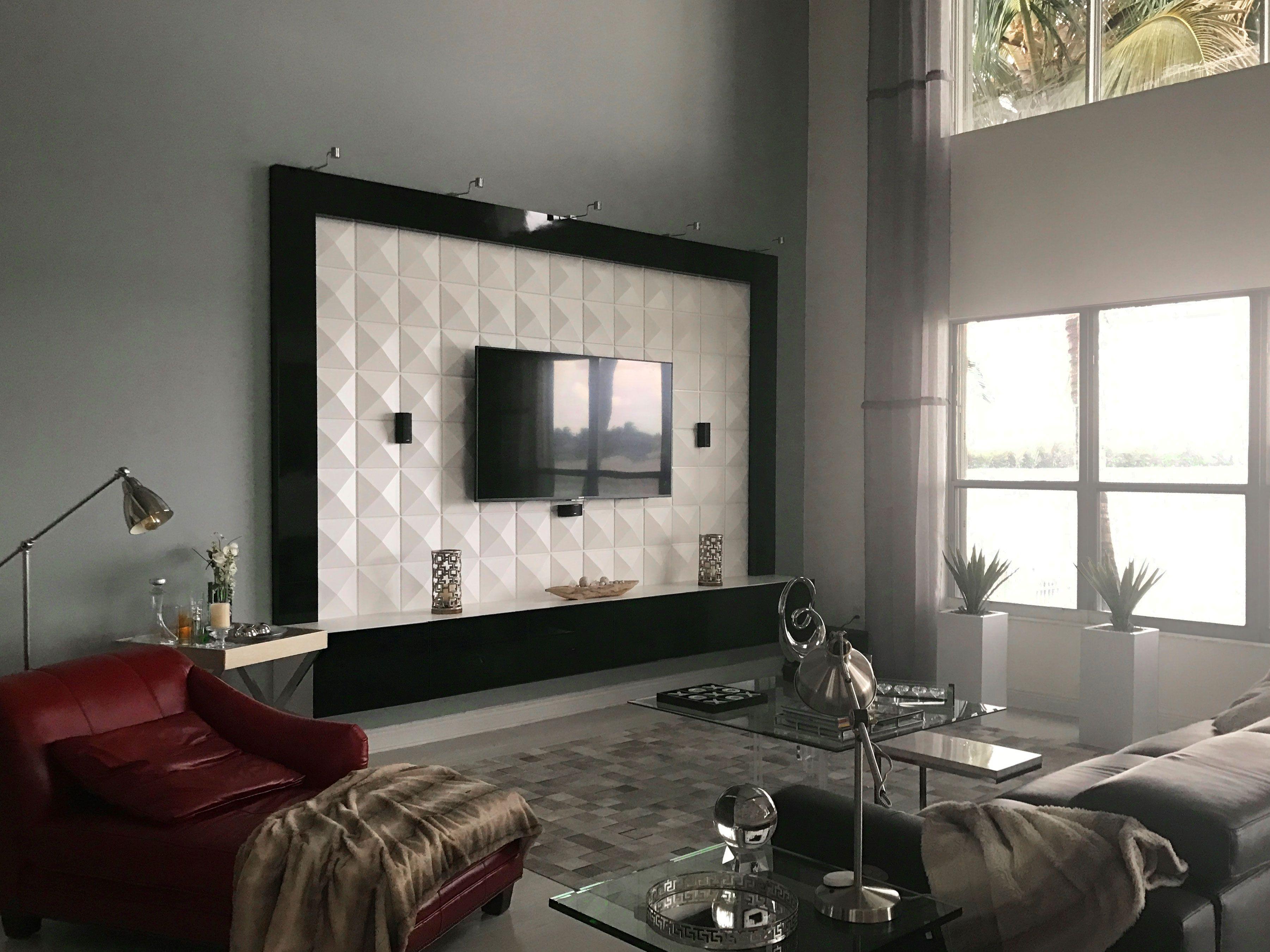 Richmond 3D Wall Panels for Living Room  3D Wall Panels