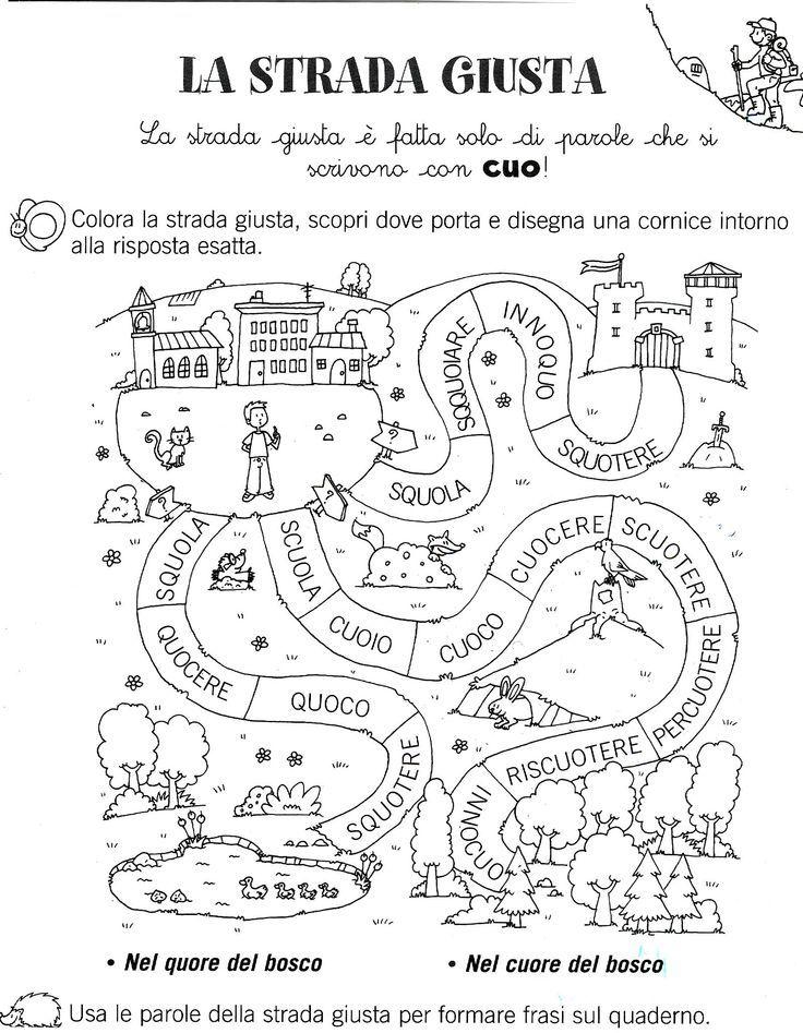 Pin by tanja42 on pom cky attivit con alfabeto for Parole capricciose esercizi