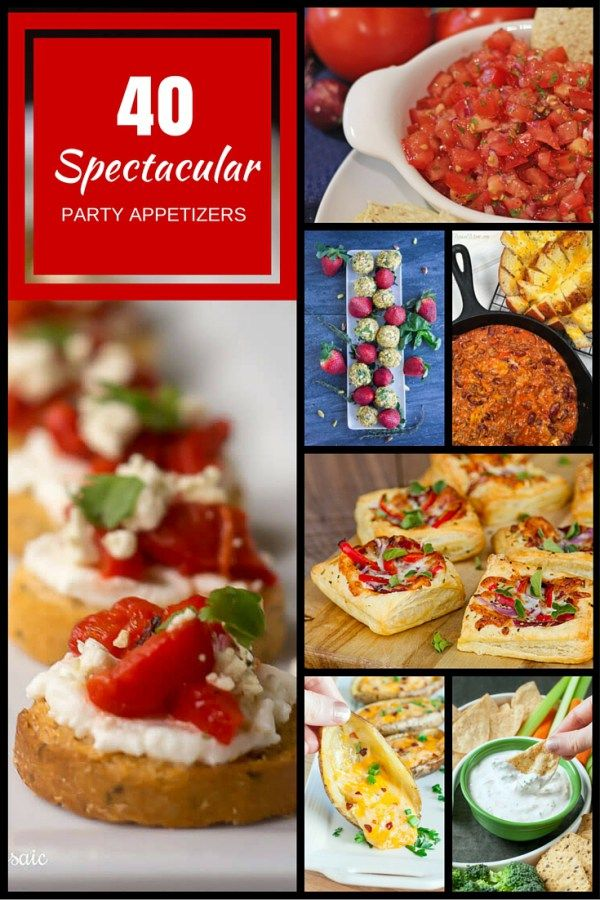 40 spectacular party appetizer recipes party appetizer recipes 40 spectacular party appetizer recipes 365 days of easy recipes forumfinder Choice Image