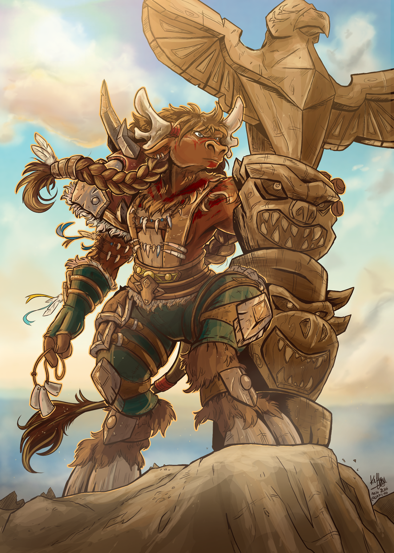Mayla Highmountain! This was really fun to do and I feel