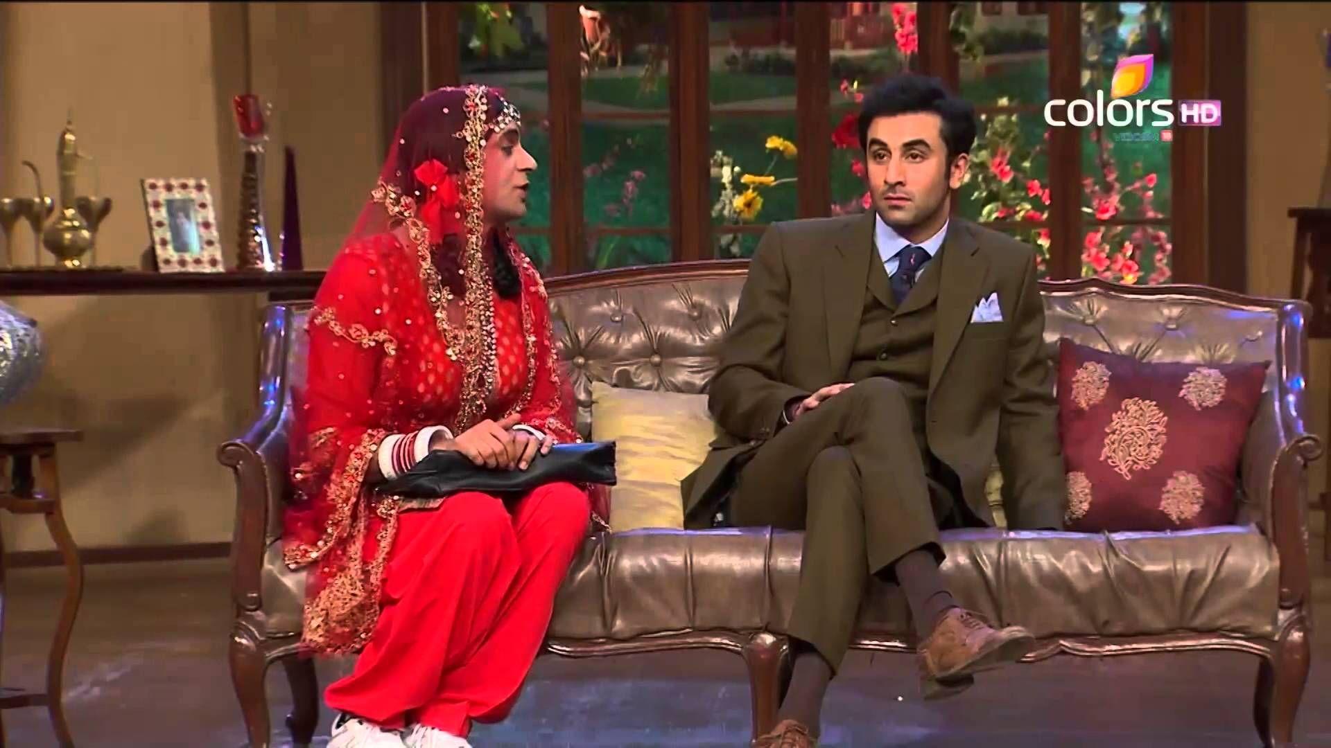 Comedy Nights with Kapil - Ranbir Kapoor & Pallavi Sharda ...