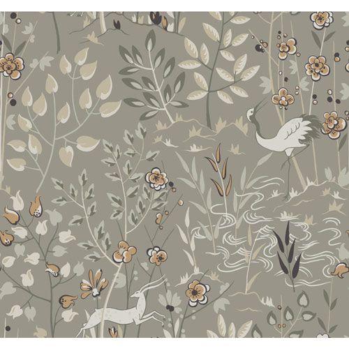 Ronald Redding Urban Light Grey Aspen Wallpaper Sample