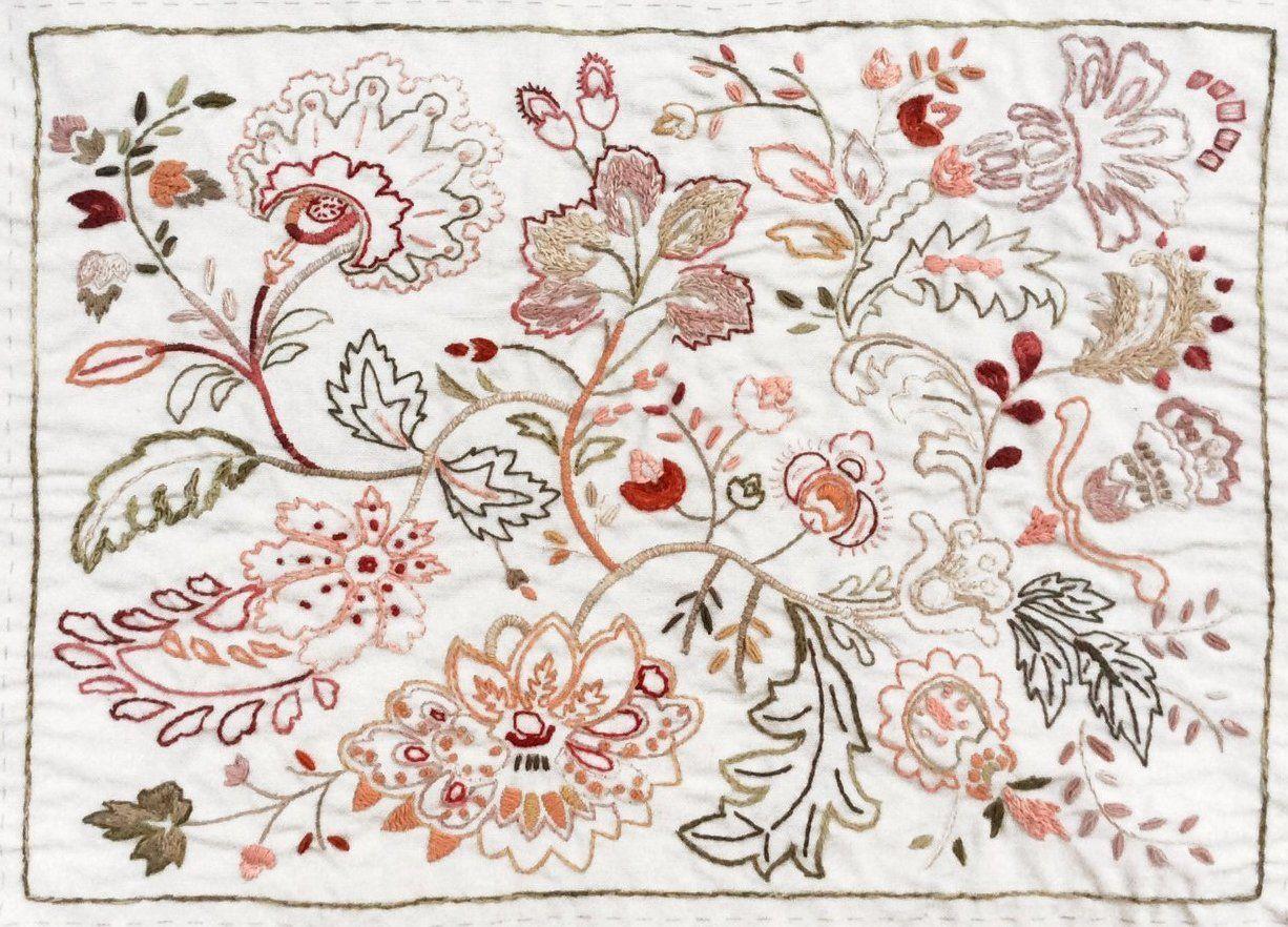 Atelier De France Embroidery Sampler Embroidery Sampler Hand