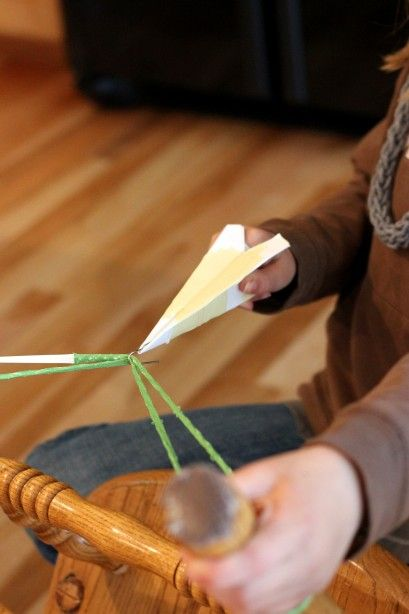 how to make a rubber band plane with paper