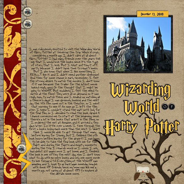 Harry Potter World Wedding: Mousescrappers/Islands Of Adventure