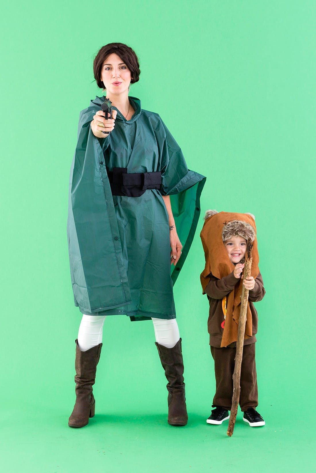 Channel the Force With These Leia and Ewok Halloween Costumes ...