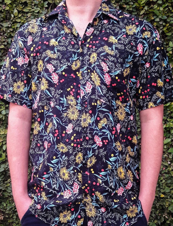 Camisa Spring - Masculina Estampada Floral Florida f8845355fc6