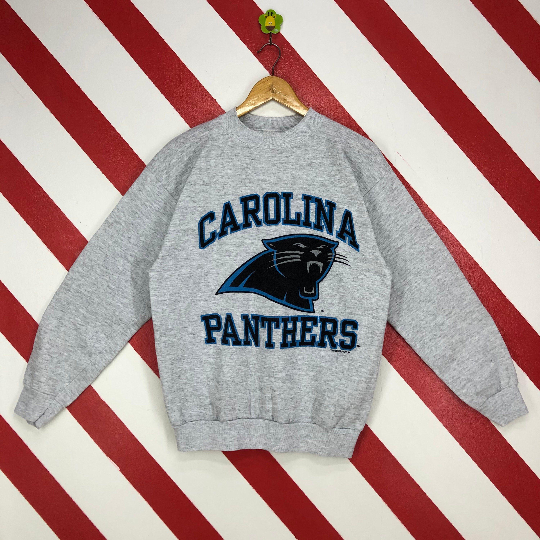 Vintage 90s Carolina Panthers Sweatshirt Crewneck Carolina Etsy Carolina Panthers Sweatshirt College Hoodies Panther Print [ 3000 x 3000 Pixel ]