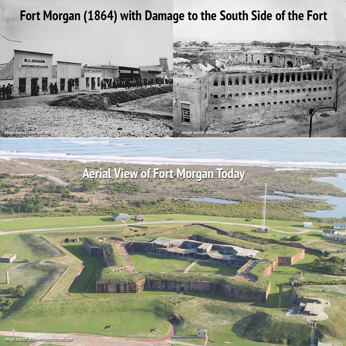 Fort Morgan Named In Honor Of Revolutionary War Hero Daniel Morgan Is Regarded By Some Scholars A The Spanish American War Fort Morgan Confederate Monuments