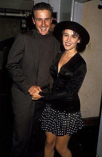 Alyssa Milano & David Arquette