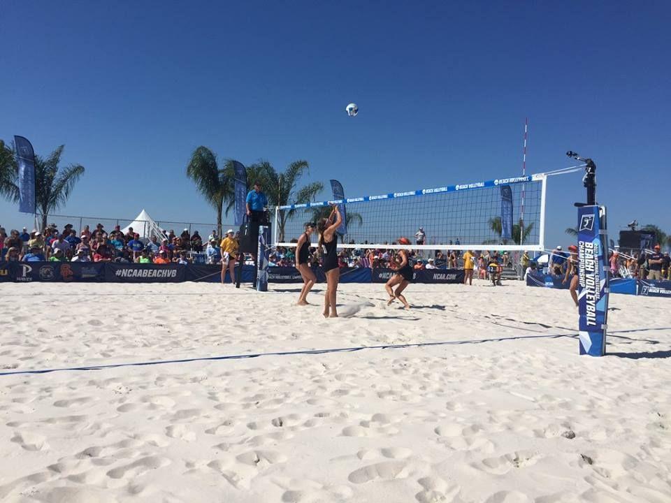 Serving Up Ncaa Volleyball Thrills On Alabama S Beaches Alabama Beaches Beach Volleyball Beach