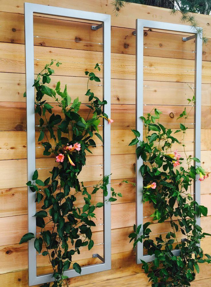 7 Inspiring DIY Garden Trellis Ideas For Growing Climbing Plants
