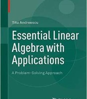 Essential Linear Algebra With Applications Pdf Electrical